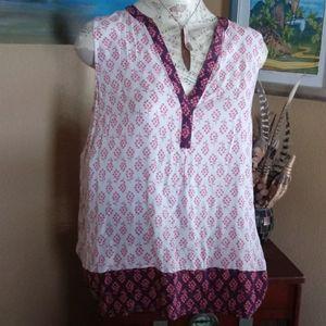 Boden Purple & Pink Tunic